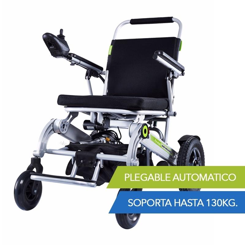 silla de rueda electrica con plegado automatico h3