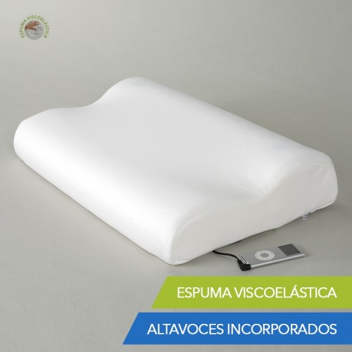 Almohada Viscoelástica Music Pillow