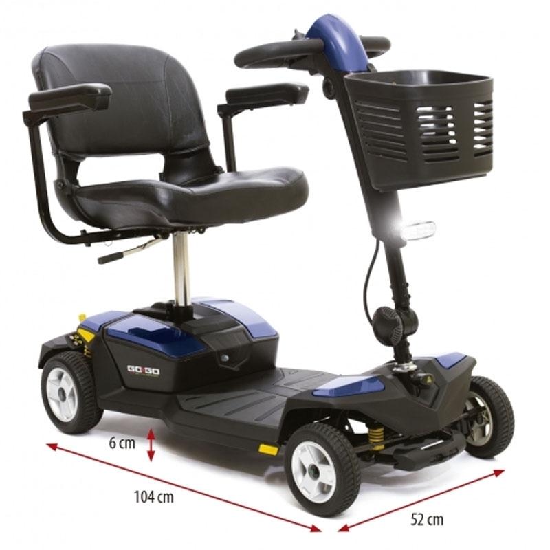 Scooter Eléctrico de 4  Ruedas GOGO-LX