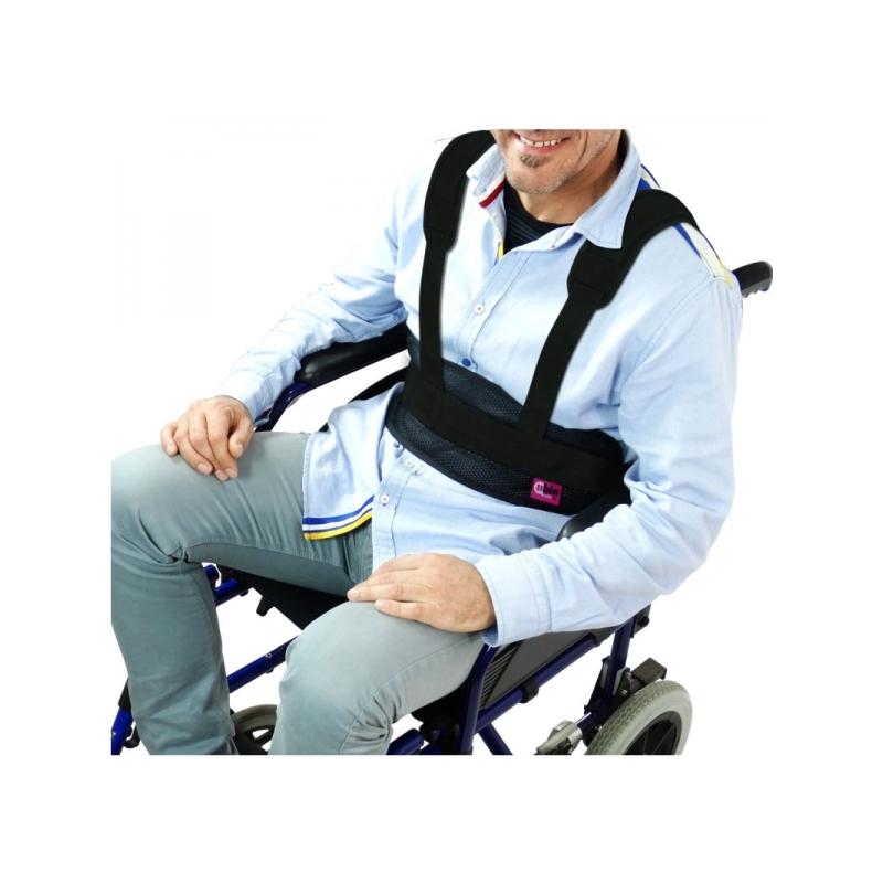 Cinturón Abdominal Con Tirantes Silla de Ruedas o Sillón