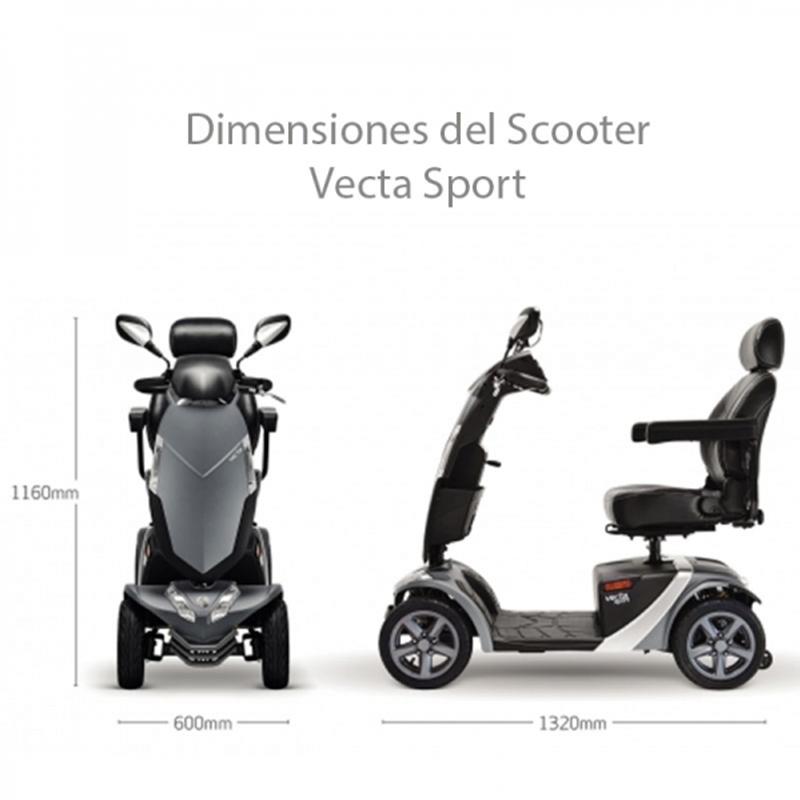 Scooter Eléctrico de 4 Ruedas Vecta Sport