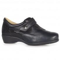 Zapato Señora Pala Elástica Negro