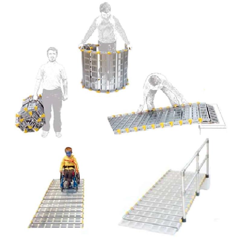 Rampa Enrollable Roll-A-Ramp