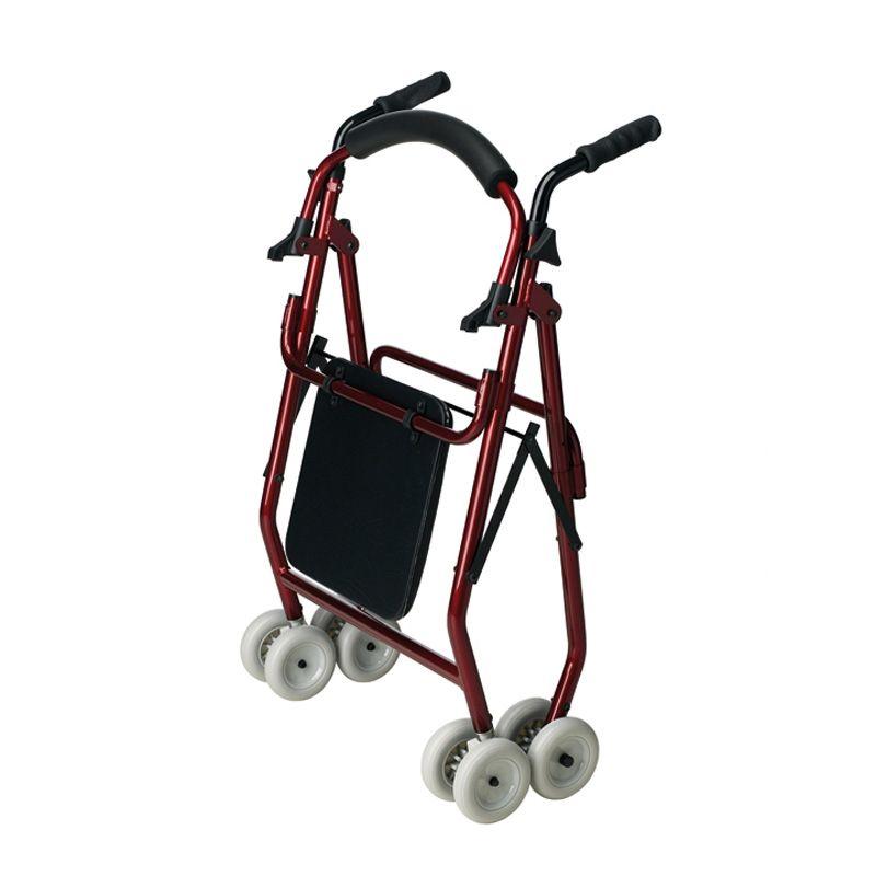 Rolator de 4 ruedas de Aluminio Roler