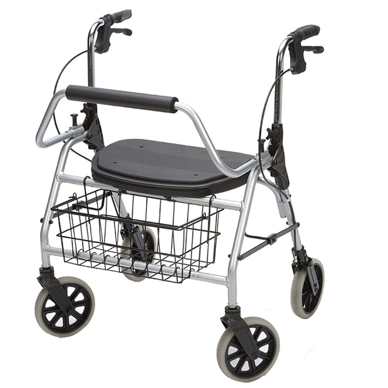 Maxi Rollator de 4 Ruedas Plegable