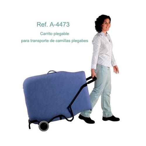Carrito Transporte de Camillas Plegables