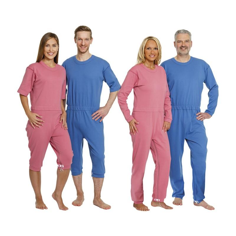 Pijamas manga corta y larga para la incontinencia