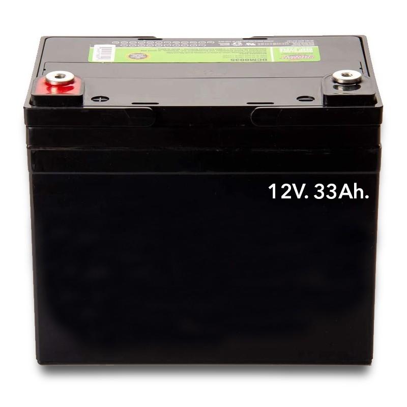 Baterías Eléctrica de Gel 12V. 33 Ah.