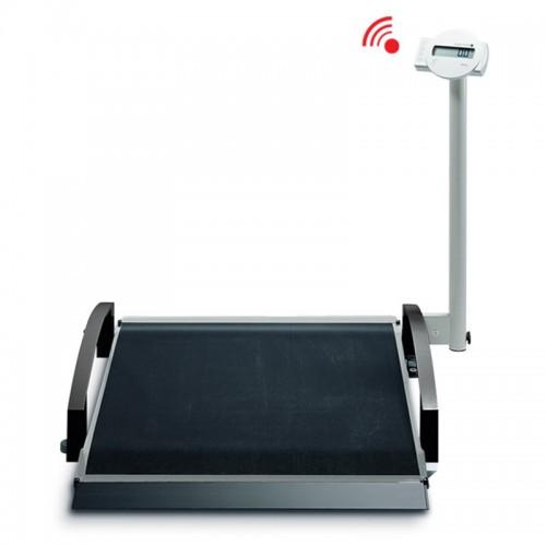 Báscula electrónica inalámbrica para sillas de ruedas