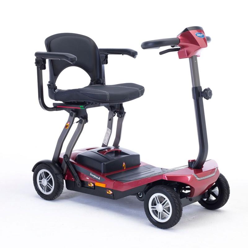 Scooter Eléctrico Plegable Scorpius