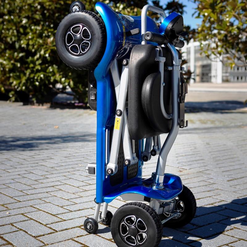 Scooter Eléctrico Plegable de 4 Ruedas Bravo