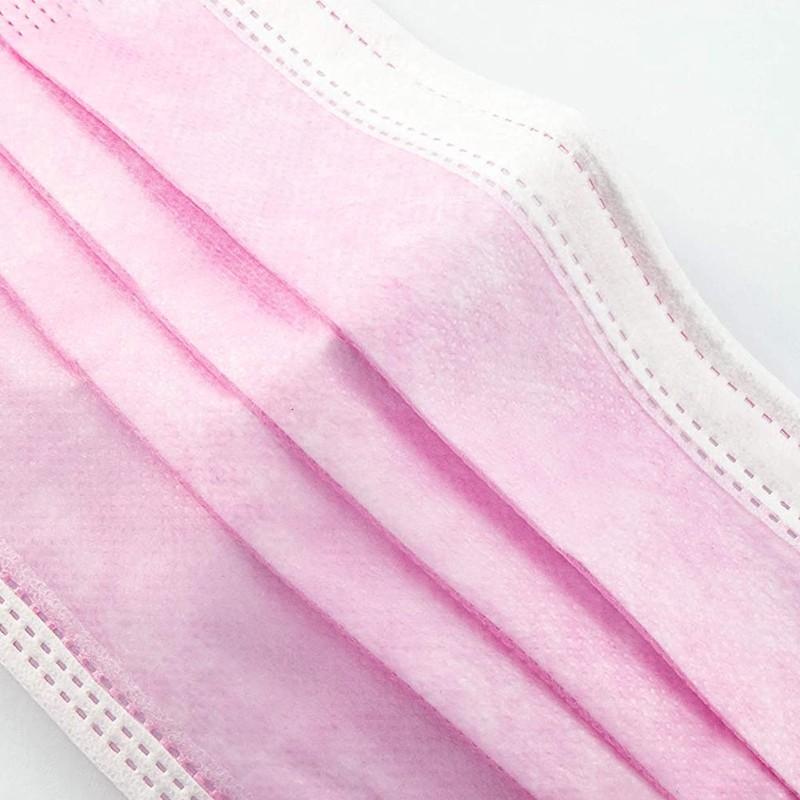 Mascarillas Higiénicas Color Rosa