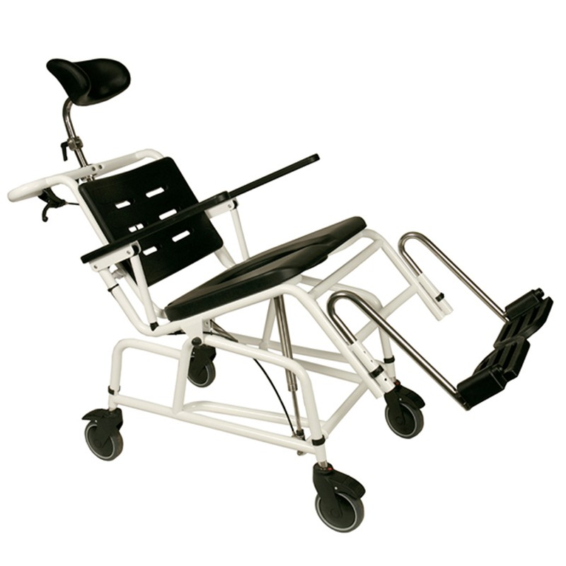 Silla de baño con ruedas Combi basculante Handicare