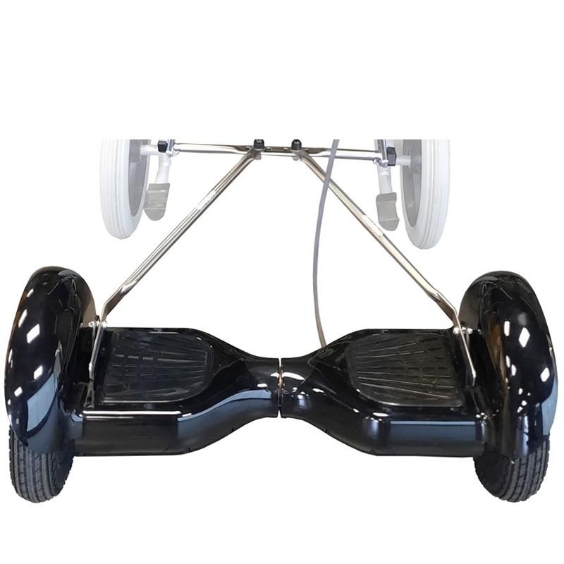 Mooevo Go - El Hoverboard para Sillas de Ruedas