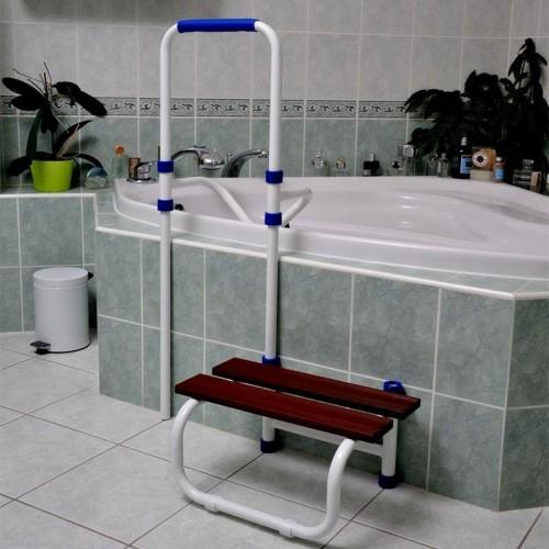 Barra de acceso a bañera con escalón Acceo
