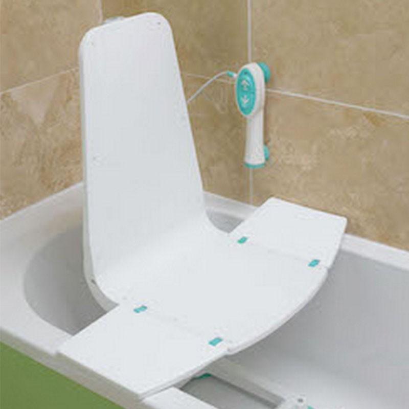 Elevador de bañera con respaldo fijo splash