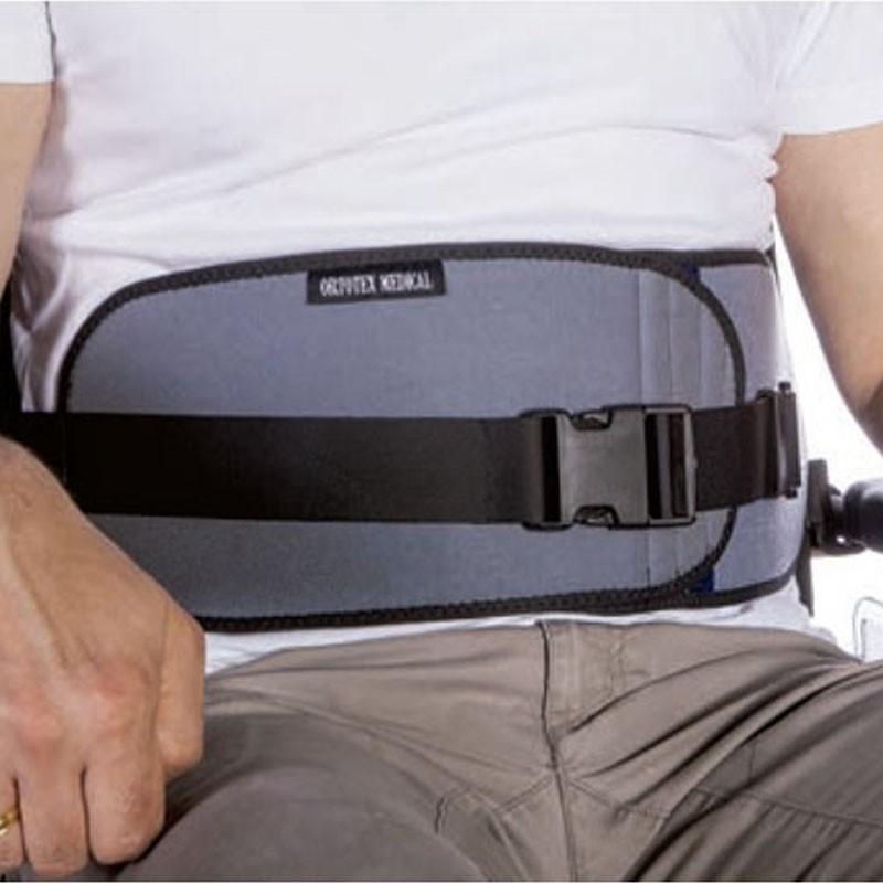 Cinturón abdominal abierto