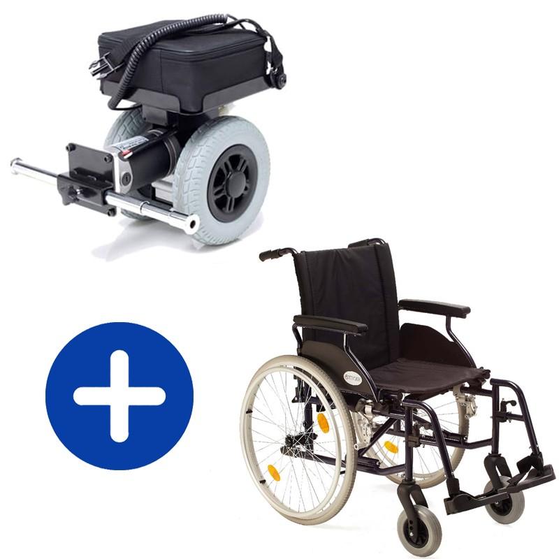Pack de Motor de Acompañante Power Pack Plus + Silla Country