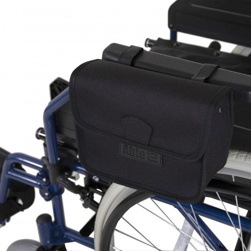 Bolsa para apoyabrazos de la silla de ruedas