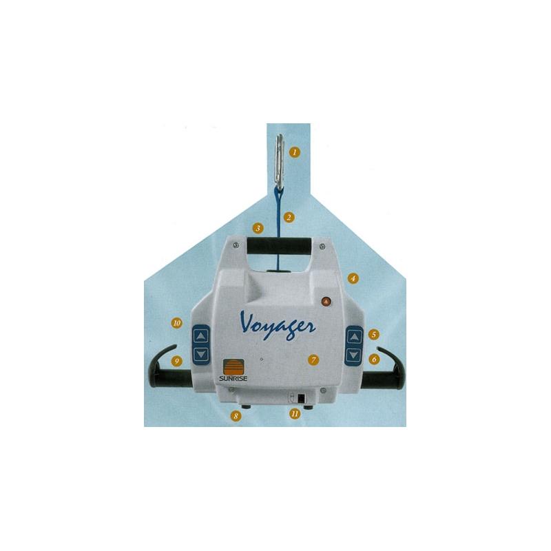 Grúa Voyager portátil