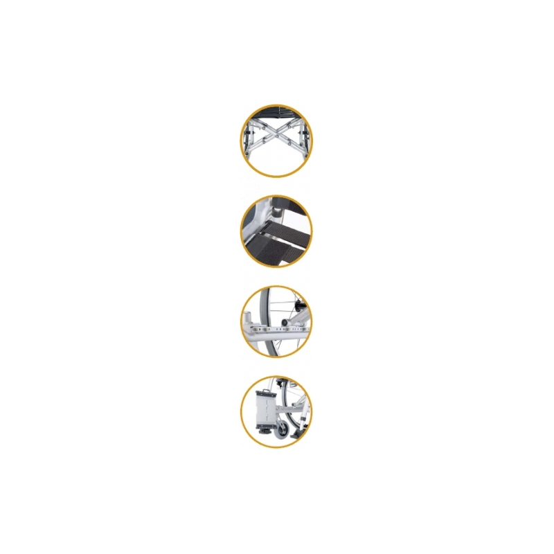 Silla de ruedas adaptable Revolution R1