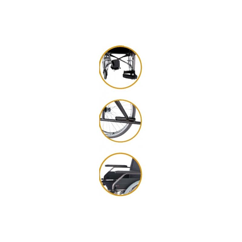 Silla de ruedas plegable estándar S Eco2