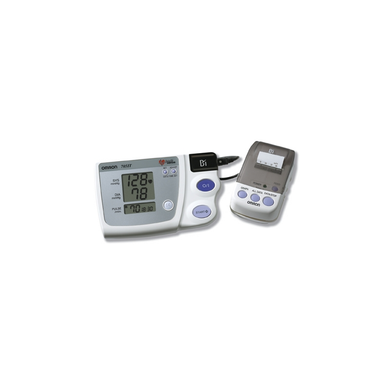 Monitor de presion arterial de brazo Automatico Con Impresora. OMRON 705CP II