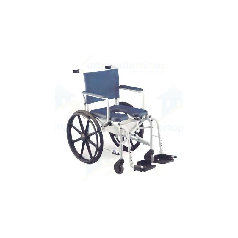 Silla de ducha plegable lima rueda de 24 for Sillas para ducha plegables