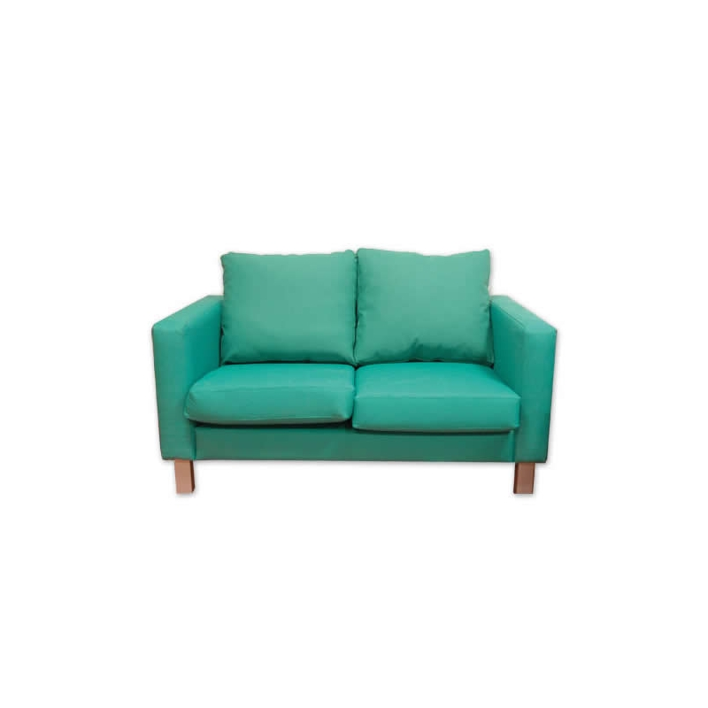 Sof de 2 plazas con respaldo bajo tapizado for Sofa 2 plazas bony