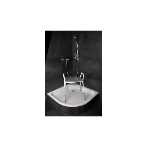 Silla de ducha con Asiento de Poliuretano