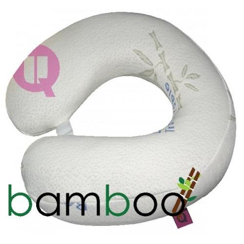 Almohada de viaje Viscoélastico de Bamboo Relaxtic