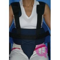 Cinturón de Sujeción Perineal Tirantes para Sillas de Ruedas-Sillón