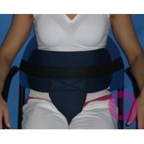 Cinturón Perineal Acolchado para Silla de Ruedas / Sillón