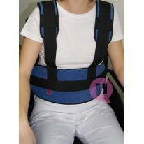 Cinturón Abdominal Tirantes Ironclip Acolchado para Sillón