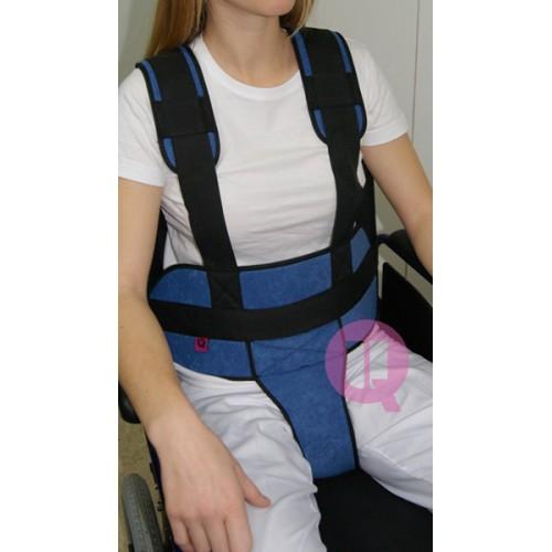 Cinturón Perineal Tirantes Ironclip Acolchado para Sillón