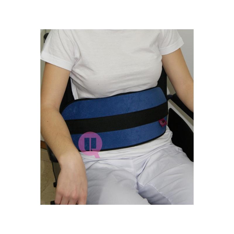 Cinturón Abdominal Ironclip Acolchado para Silla de Ruedas