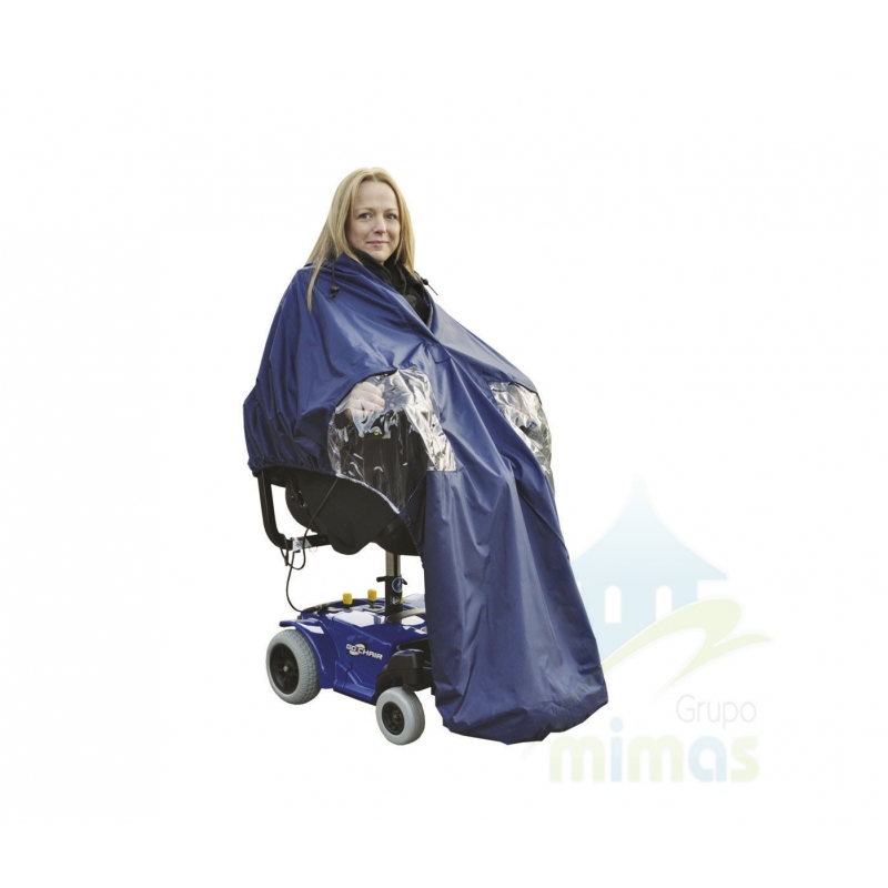 Capa forrada Splash para sillas con motor