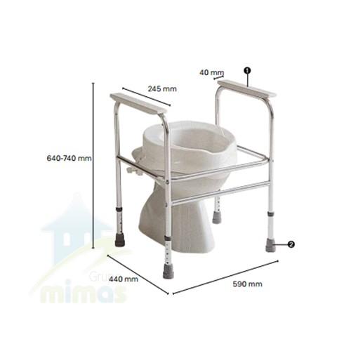 Cuadro de lavabo Adeo