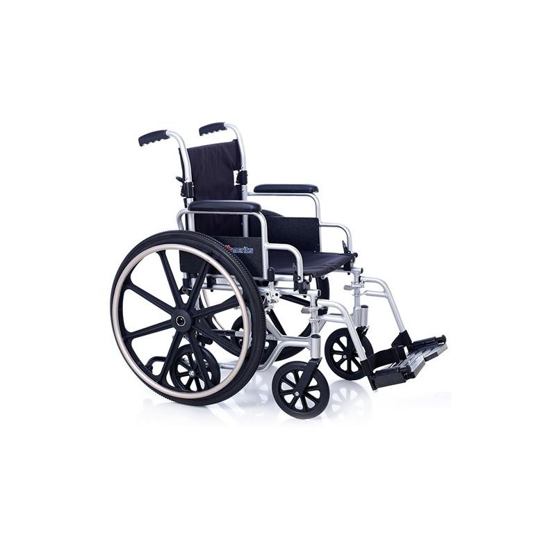 Silla de ruedas de aluminio oxford for Sillas de aluminio