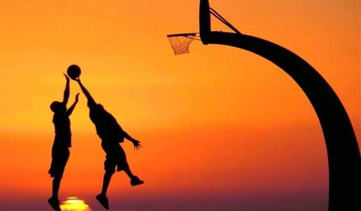 Ten cuidado con las lesiones si practicas baloncesto.