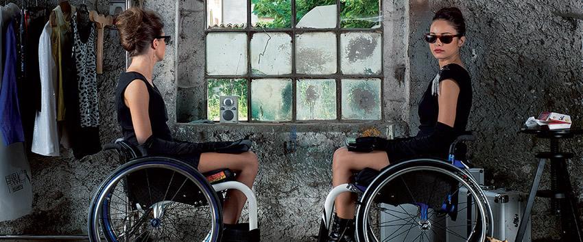 Medidas de una silla de ruedas.