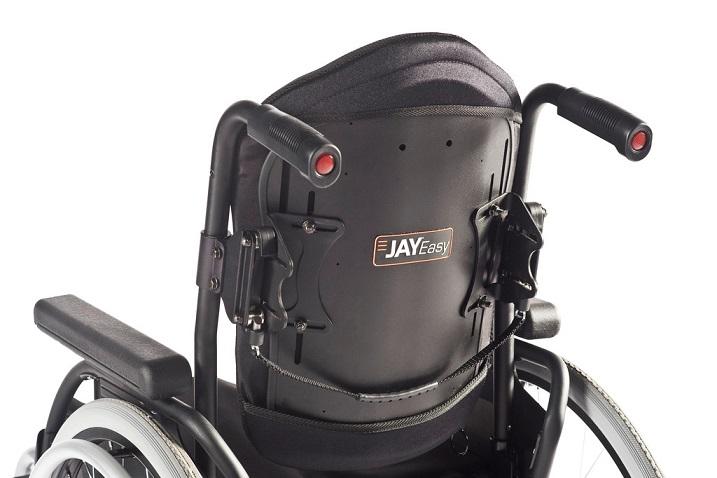 Respaldos rígidos para sillas de ruedas.