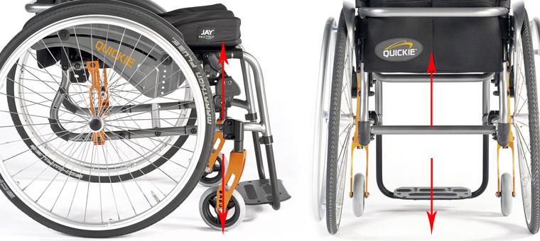 Medidas correctas de tu silla de ruedas