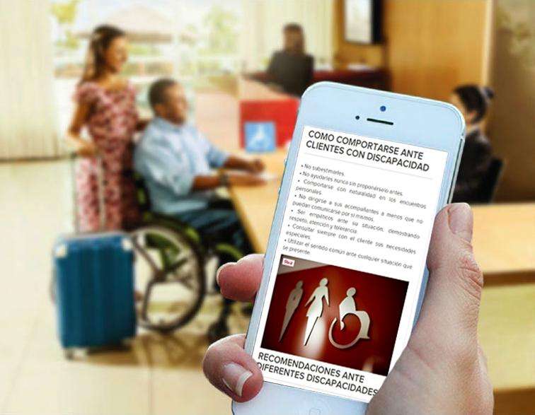 Como comportarte ante clientes con discapacidad
