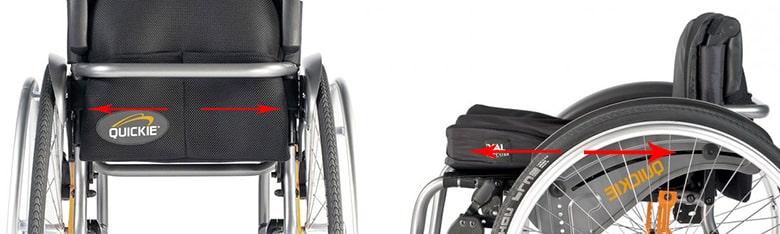 Medidas asiento silla de ruedas Medidas silla de ruedas