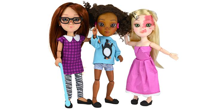 Muñecas en Silla de Ruedas y Más Juguetes Inclusivos