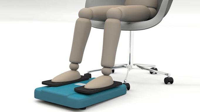 Happylegs – La Máquina de Andar Sentado
