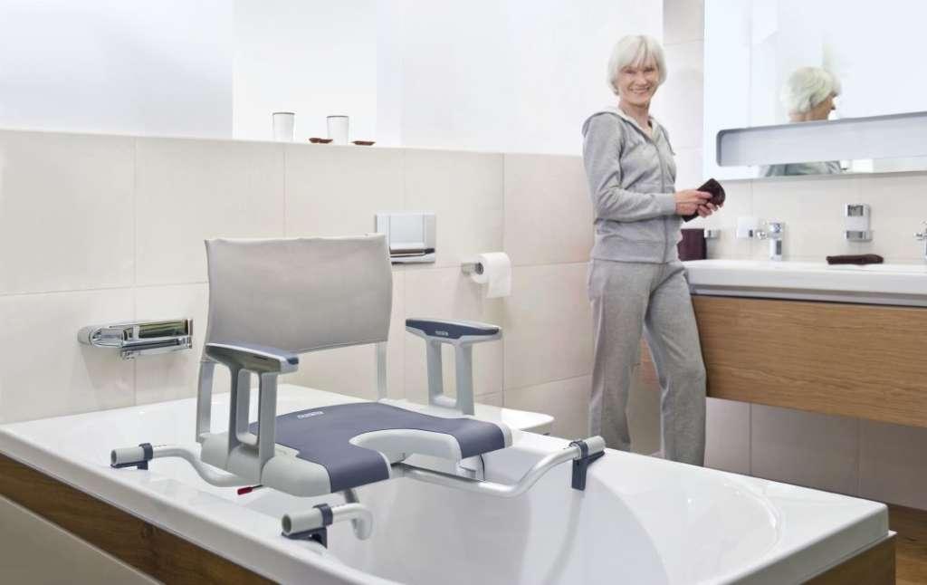silla giratoria para bañera sorrento