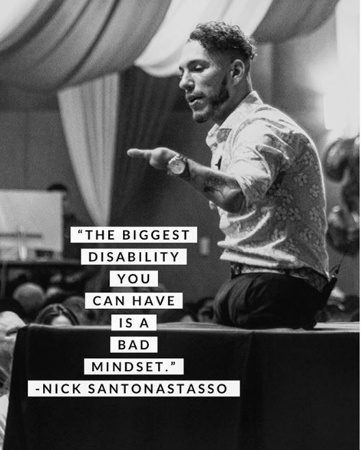 Nick Santonastasso Charlas Motivacionales