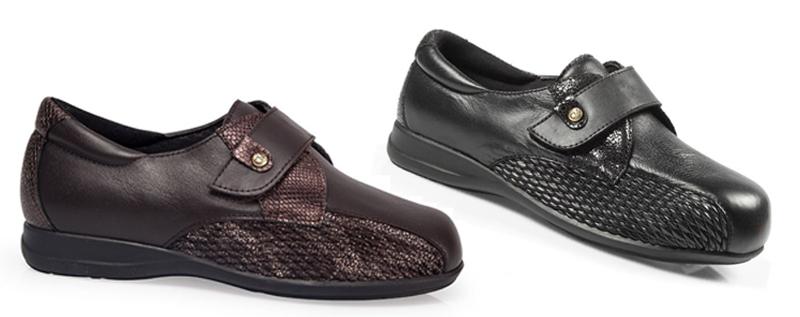 Zapatos Arreglados de Mujer para Diabéticos
